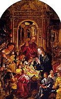 Adoração dos Pastores, 1544, lopes