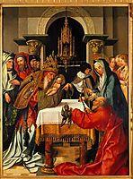 Apresentação do Menino no Templo, 1520, lopes