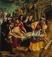 Enterro de Cristo, 1539, lopes