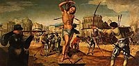 Martírio de São Sebastião, 1536, lopes