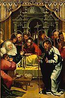 Morte da Virgem, 1527, lopes