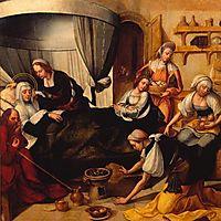 Nascimento de São João Baptista, 1530, lopes