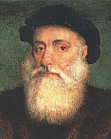 Portrait of Vasco da Gama, 1524, lopes