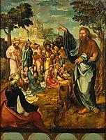 Pregação de São João Baptista, 1530, lopes