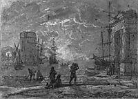 Harbour Scene, lorrain