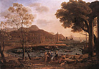 Harbour Scene with Grieving Heliades, c.1640, lorrain