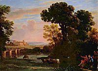 Pastoral Landscape, 1648, lorrain