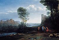 Pastoral Landscape, 1677, lorrain