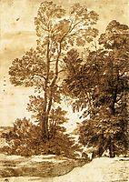 Trees, c.1669, lorrain