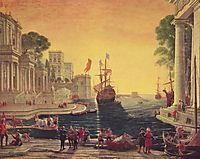 Ulysses Returning Chryseis to her Father, 1644, lorrain