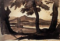 View of the Campagna, c.1669, lorrain