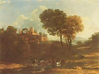 Villa in the Roman Campagna, c.1645, lorrain