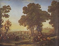 The Village Festival, 1639, lorrain