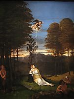 Allegory of Chastity, 1505, lotto