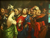 Christ and the Adulteress, c.1528, lotto