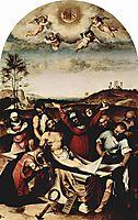 Deposition of Christ, 1512, lotto