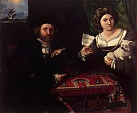 Husband and Wife, 1523, lotto