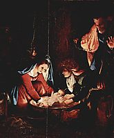 The Nativity, 1527, lotto