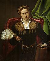Portrait of Laura da Pola, wife of Febo da Brescia, c.1543, lotto
