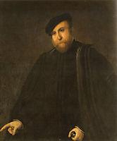 Portrait of a man, lotto