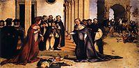 St. Dominic Raises Napoleone Orsini, 1516, lotto