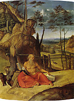 St. Jerome in the Desert, c.1509, lotto