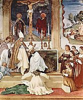 The Story of St. Barbara and St. Alvise, 1524, lotto