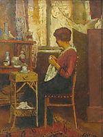 In atelier, luchian