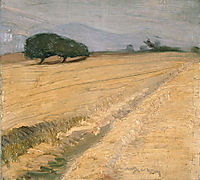 Field with Haystacks, lytras