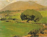 Landscape of Attica, lytras
