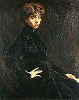 Portrait of Mlle.M. Horsch, c.1917, lytras