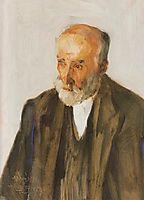 Portrait of Sculptor Yannoulis Chalepas, lytras