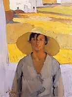 The straw hat, 1925, lytras