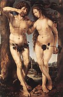 Adam and Eve, c.1520, mabuse