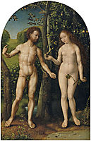 Adam and Eve, c.1510, mabuse
