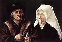 An Elderly Couple, c.1520, mabuse