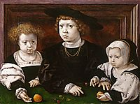 The children of King Christian II of Denmark, Norway and Sweden , 1526, mabuse