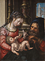 Holy family, c.1527, mabuse