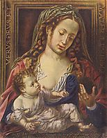 Madonna and Child, c.1515, mabuse