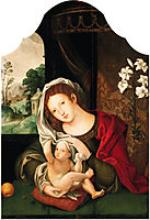 Madonna and Child playing with the veil, c.1520, mabuse