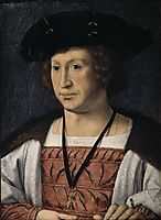 Portrait of Floris van Egmond, 1519, mabuse