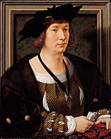 Portrait of Hendrik III, Count of Nassau Breda, c.1516, mabuse