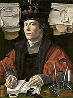 Portrait of a merchant, c.1530, mabuse