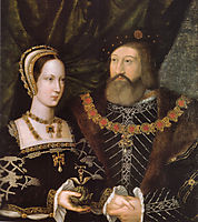 Princess Mary Tudor and Charles Brandon, duke of Suffolk, c.1516, mabuse