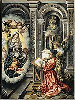 Saint Luke painting the Virgin, c.1523, mabuse