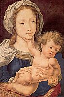 Virgin and Child, 1525, mabuse