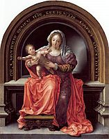 The Virgin and Child, 1527, mabuse