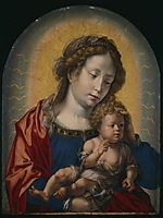Virgin and Child, c.1525, mabuse