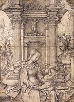 Virgin and Child with Saints, c.1511, mabuse