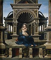 Virgin of Louvain, c.1516, mabuse